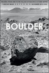 Boulder, Chile, Hamish Fulton