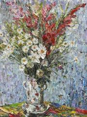 Pictures of Magazine 2: Vase of Flowers, after Claude Monet  , Vik Muniz