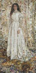 Pictures of Magazine 2: Symphony in White, No. 1: The White Girl, after James Whistler  , Vik Muniz