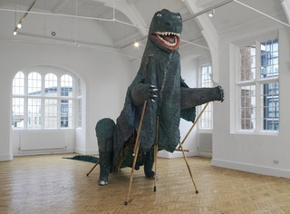 Aping the Beast, Camden Arts Centre installation shot ,Serena Korda