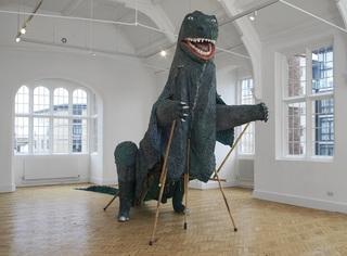 Aping the Beast, Camden Arts Centre installation shot , Serena Korda