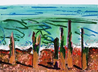 The Groynes of Winchelsea, Liz Derbyshire