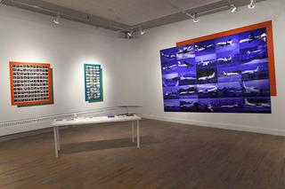 Installation view, Garry Neill Kennedy
