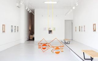 Installation view, West Gallery,Thomas Macker