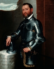 Portrait of Mario Benvenuti, Giovanni Battista Moroni