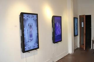 Installation shot at Gallery Heist 2012,