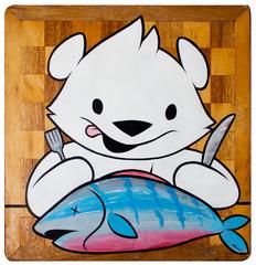 Bear Eats Fish, Philip Lumbang