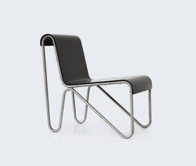 Beugelstoel 1 (Bow Chair 1) , Gerrit Thomas Rietveld