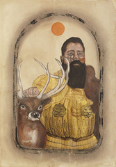 In My Younger Days I Used to Sport a Stag, Frohawk Two Feathers, Andrew Demirjian