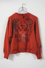 Bowery Nation Pullover, Brad Kahlhamer