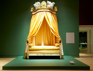 Imperial Bed of the King of Westphalia , Francois-Honoré-Georges Jacob-Desmalter