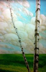 Birch Landscape, Daniel Tousignant