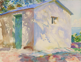 Corfu: Lights and Shadows , John Singer Sargent