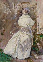 The Cashmere Shawl , John Singer Sargent