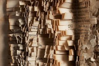 Sacred Poem XXXV, detail, Carole P. Kunstadt