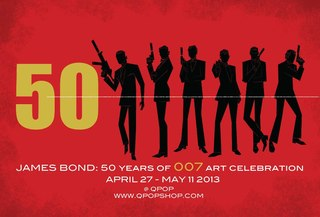 James Bond: 50 years of 007 art celebration, Christopher Mitchell