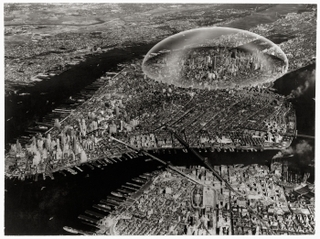 Dome Over Manhattan, Buckminster Fuller and Shoji Sadao