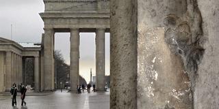 Brandenburg Gate - Bullet Crater,