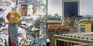 Monster Graffiti - Berlin City View,