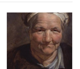 Head of an Old Woman, Peter Paul Rubens