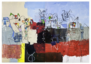 Downtown New York, George Condo