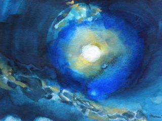 """""""Sur La Mer"""" , Frances de Courcy Mercer"""