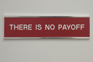 THERE IS NO PAYOFF, Cynde Miller, Roger Tilton