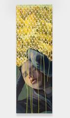 yellow drips, Alexandra Wiesenfeld