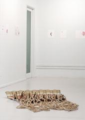 Installation view, Rebecca Ripple