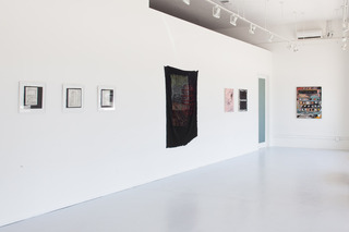 Installation view, Roger Herman, David Korty, Michael Dopp, Calvin Marcus