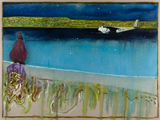 sea of galilee, night ,Billy Childish