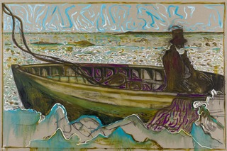 man on an icy sea (version y) , Billy Childish