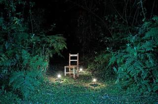 A pesar de las ausencias entreveo siempre luces verdes (Glimpses of green lights flicker amidst the absence), Pablo Soria