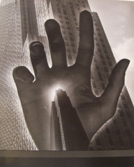 Hand with Skyscraper,Angelo Pinto
