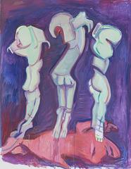 Drei Grazien, Maria Lassnig