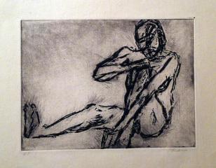 Artist Print, Akbar Padamsee