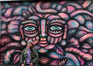 Face on Brick Lane, Amara Por Dios