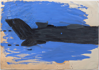 Fighter Plane , Rose Wylie