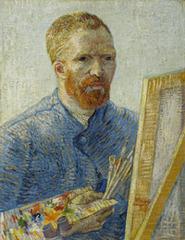 Zelfportret als schilder, Vincent Van Gogh