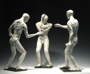 Untitled (Three Standing Men), Bob Clyatt