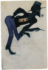 Man in Blue Pants, Bill Traylor