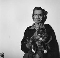 Man Holding Cat, Roger Ballen