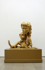 Paul McCarthy: Michael Jackson and Bubbles (Gold) ,