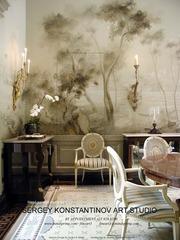 Mural room. Art Studio Sergey Konstantinov., Sergey Konstantinov