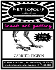 Metropolis Collective presents Carrier Pigeon,