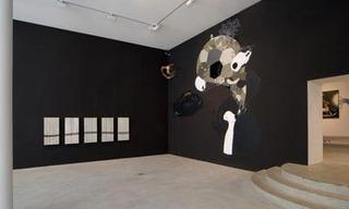 Heiko Zahlmann und Herbert Baglione, Installation View, de Pury & Luxembourg, 2007, Herbert Baglione, Heiko Zahlmann