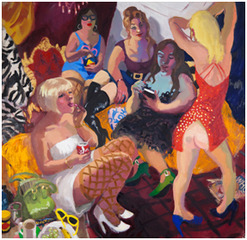 """Demoiselles Darlinghurst""  , Wendy Sharpe"