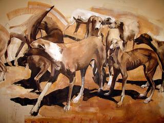Africanis (Detail), Meleko Mokgosi
