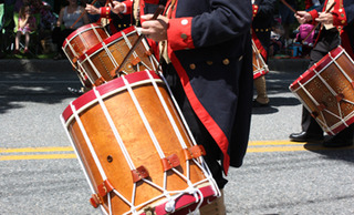 Fife & Drum muster, Westbrook, Connecticut, Allison Smith