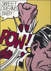 """Sweet Dreams, Baby from the portfolio """"Eleven Pop Artists, Vol. III, Roy Lichtenstein"""